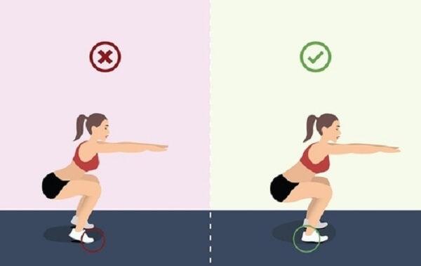 Phương pháp tập luyện cơ chân tại nhà