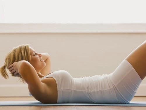 Cách tập thể dục giảm mỡ bụng