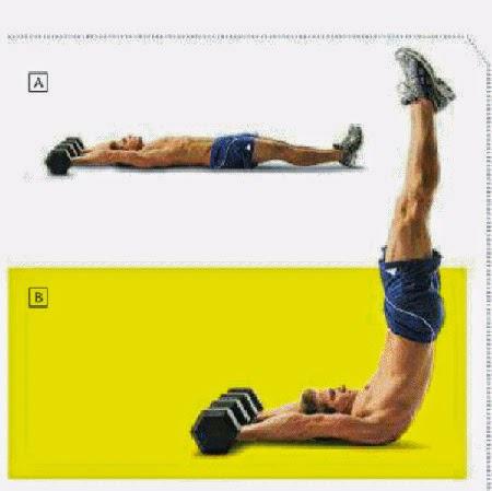 Chia sẻ 3 động tác tập cơ bụng 6 múi nhanh nhất
