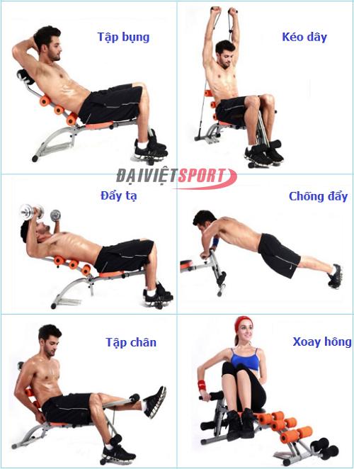 Các bước tập cơ bụng với máy tập cơ bụng thế nào là hiệu quả