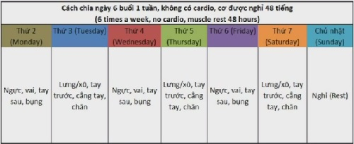Kế hoạch tập thể hình để giảm cân trong 1 tháng